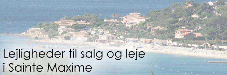 Lejeligheder til salg og leje i Sainte Maxime