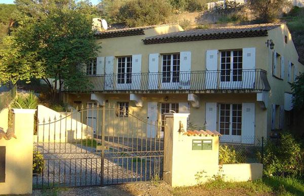 Villa Marie ved den franske Riviera